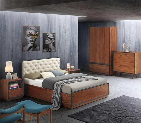 A0523B Steelwood Bedroom Set