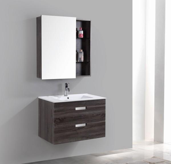 Wholesale modern PVC coating bathroom vanity