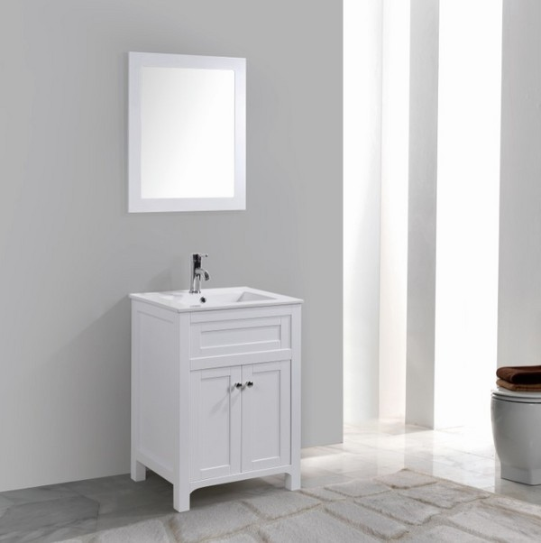 Free style design mirror bathroom cabinets made in Hangzhou