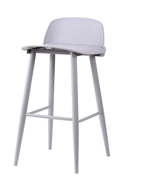 Popular Bar Furniture Modern Plastic High Bar Chair