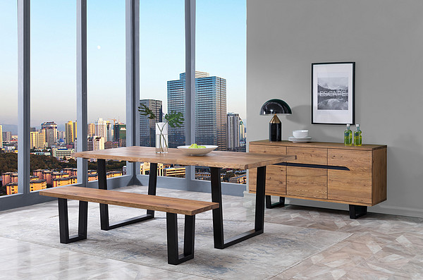 Halifax Dining Table /  Bench