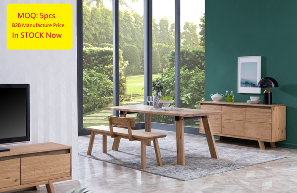 Mountain Dining Table /  Bench