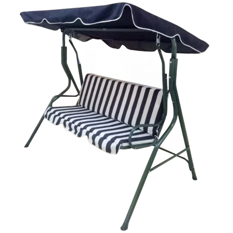 Theree Seats Garden Swing Chair