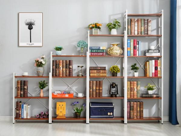 living room books and decoration  shelf