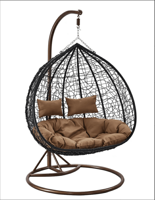 out door double seat leisure hanging chair
