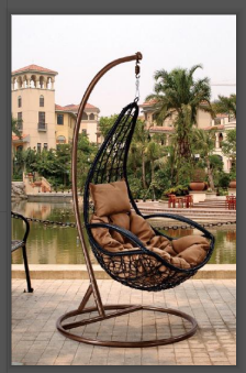 Durable outdoor leisure comfortable hanging chair