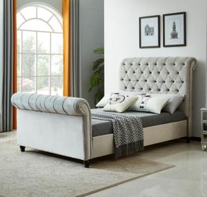 Sleigh bed CH033-1
