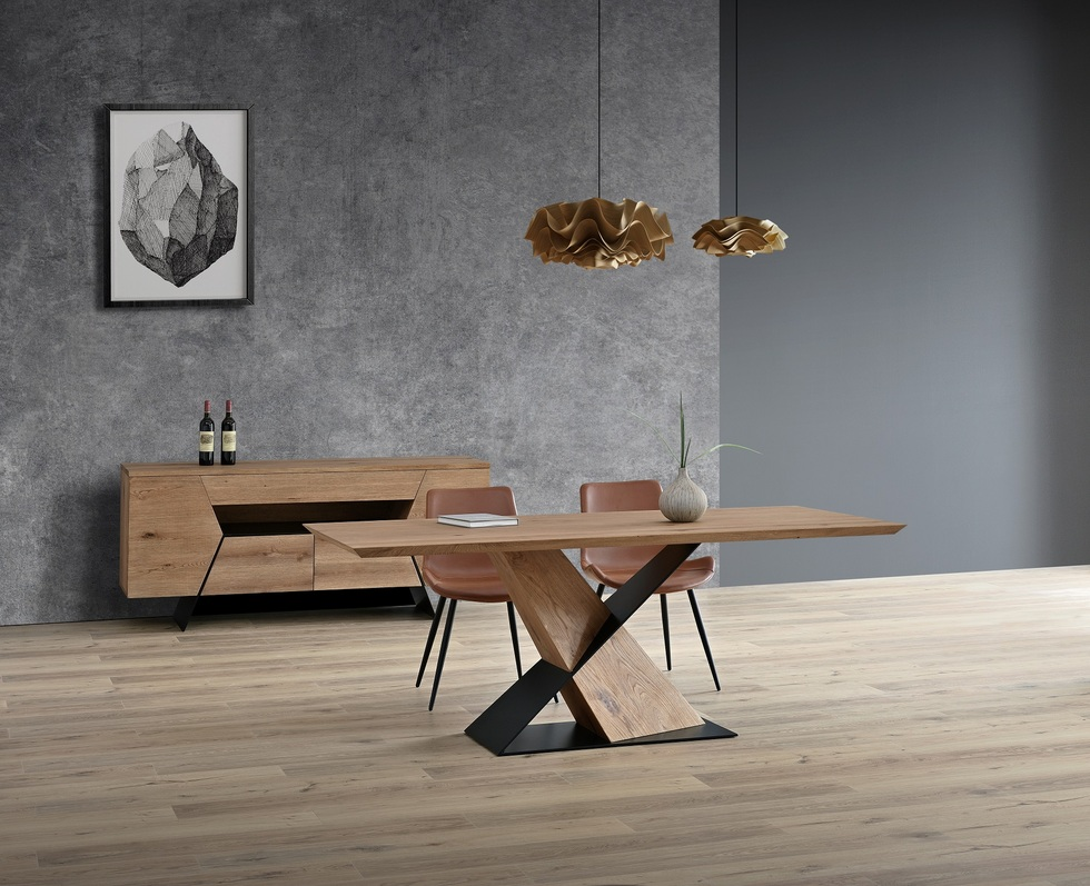 Pyramid Dining table / Sideboard