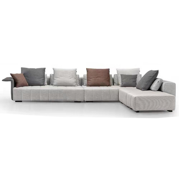 Modern style L shape designer sofa set