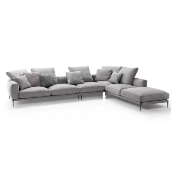 Contemporary sectional sofa set