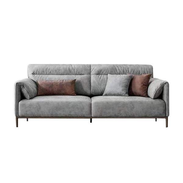 High back soft seat 3 seat couch