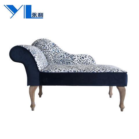 Blue White Porcelain Pattern Creative Chair