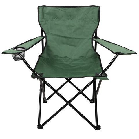 Tourist Folding Chair Beach Chair with Armrests
