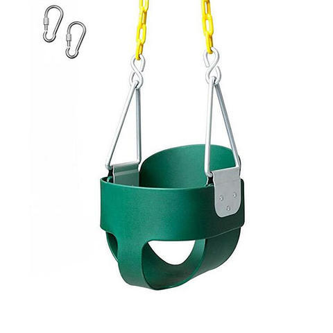 Outdoor Garden Horse Shape Playground Swing For Children EVA Swing Seat