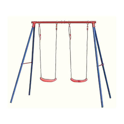 Outdoor Folding Swing Garden Horse Shape Wooden Toddler Swing