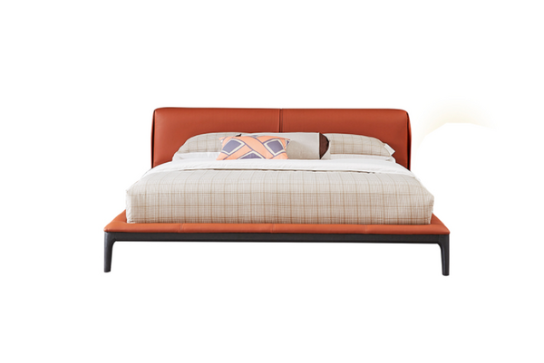 MLS-2032  Italian Style Minimalist Double Bed