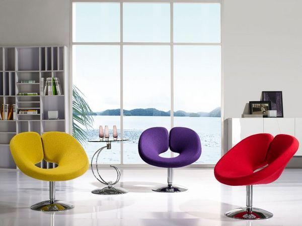 B119 Modern Fashionable Creative Leisure Swivel Chair